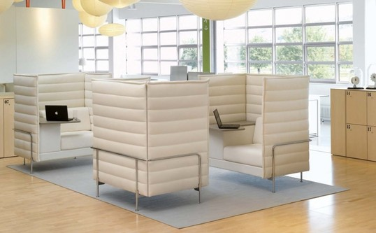 Sofa - Vitra - Alcove Plume Contract
