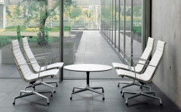 Lounge Sessel - Vitra - Aluminium Chair EA 115, EA 116