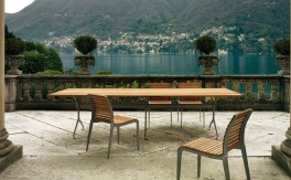 Sitzgruppe - Alias - Teak Chair & Table