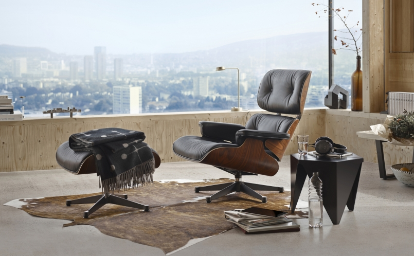 Elegant Lounge Sessel   Vitra   Eames Lounge Chair ...