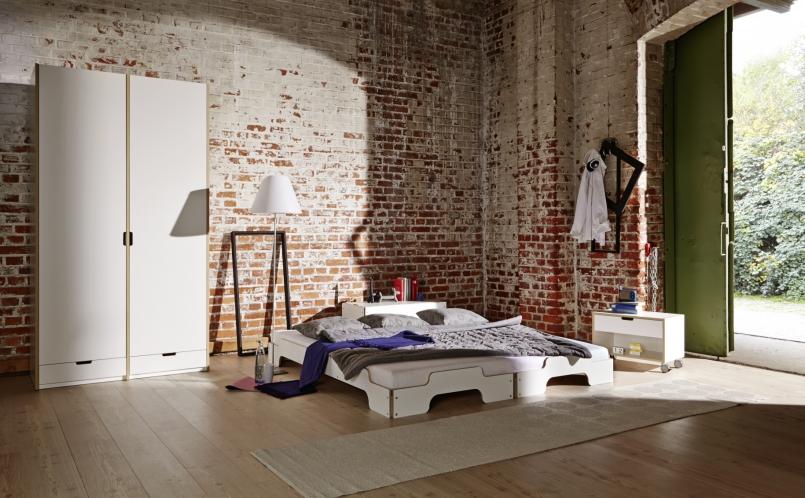 bett stapelliege m ller m belwerkst tten marcus hansen. Black Bedroom Furniture Sets. Home Design Ideas