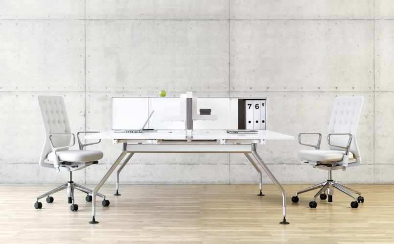 schreibtisch ad hoc arbeitsplatzsystem vitra marcus hansen m nchen. Black Bedroom Furniture Sets. Home Design Ideas