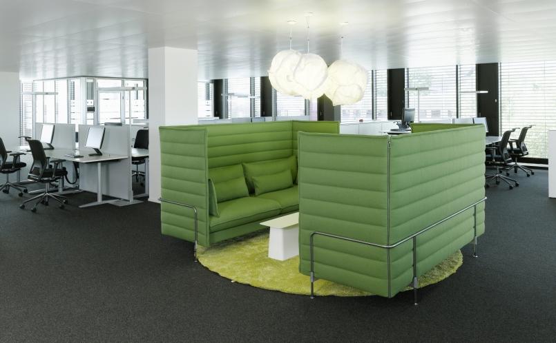 Sofa Alcove Plume Contract Vitra Marcus Hansen Munchen