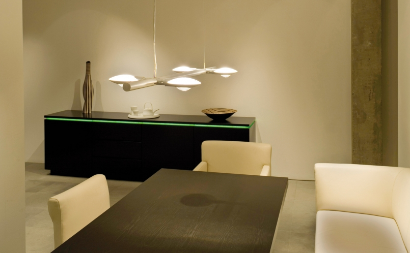 h ngeleuchte puro sistema quattro sei occhio marcus hansen m nchen. Black Bedroom Furniture Sets. Home Design Ideas