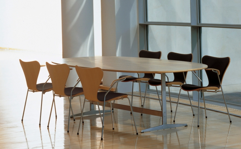 stuhl serie 7 fritz hansen marcus hansen m nchen. Black Bedroom Furniture Sets. Home Design Ideas