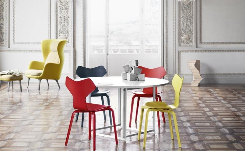 stuhl grand prix holz fritz hansen marcus hansen m nchen. Black Bedroom Furniture Sets. Home Design Ideas