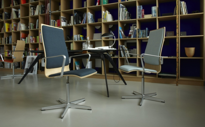 konferenzstuhl oxford fritz hansen marcus hansen m nchen. Black Bedroom Furniture Sets. Home Design Ideas