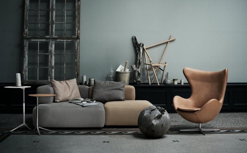 lounge sessel das ei fritz hansen marcus hansen m nchen. Black Bedroom Furniture Sets. Home Design Ideas