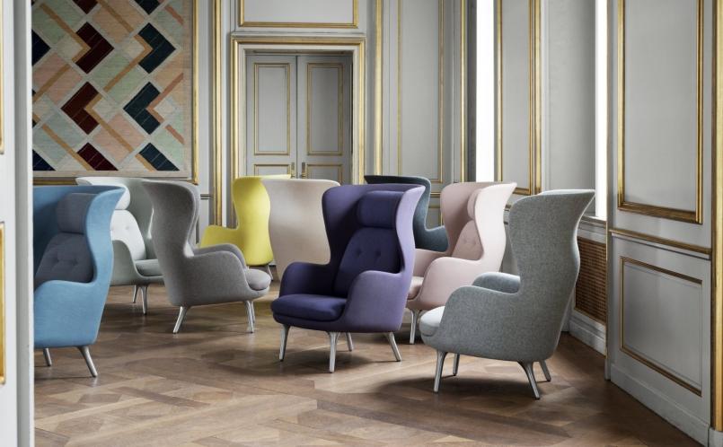 lounge sessel ro fritz hansen marcus hansen m nchen. Black Bedroom Furniture Sets. Home Design Ideas