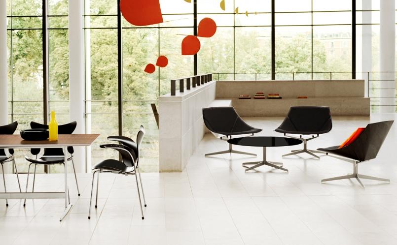 lounge sessel space fritz hansen marcus hansen m nchen. Black Bedroom Furniture Sets. Home Design Ideas