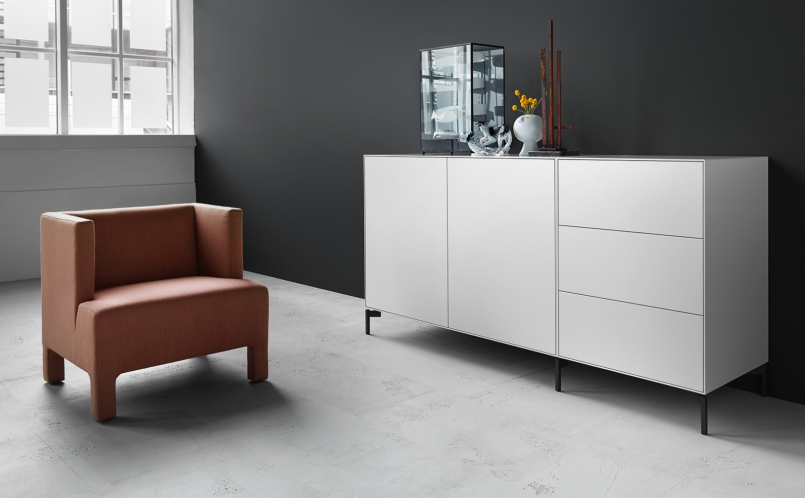 sideboard nex pur box piure marcus hansen m nchen. Black Bedroom Furniture Sets. Home Design Ideas
