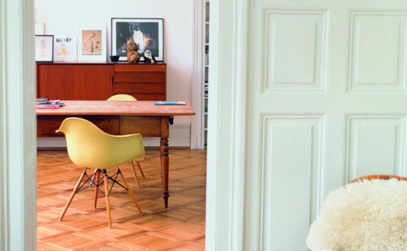 Eames Plastic Armchair : Stuhl eames plastic armchair daw vitra marcus hansen münchen
