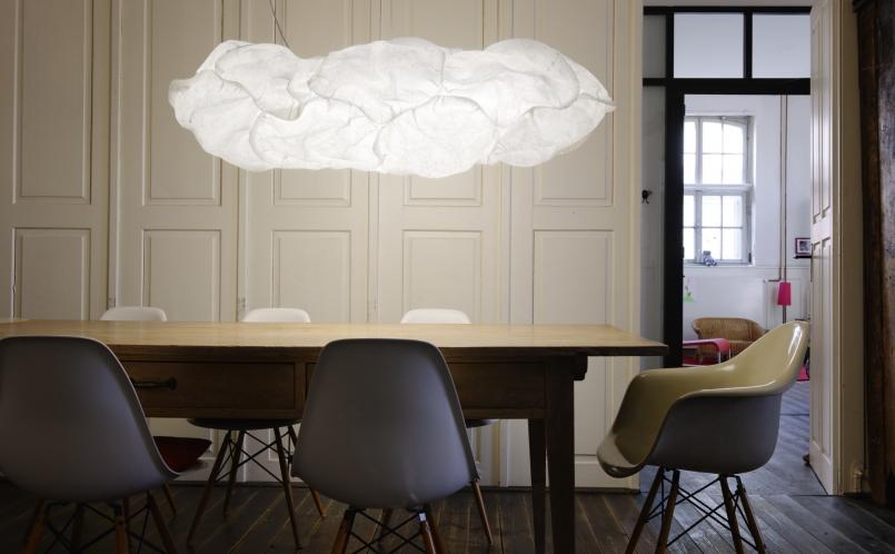 H ngeleuchte cloud belux marcus hansen m nchen - Grand luminaire suspendu ...