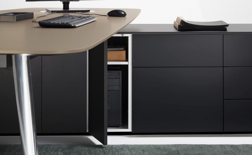 schreibtisch keypiece communication desk walter knoll. Black Bedroom Furniture Sets. Home Design Ideas