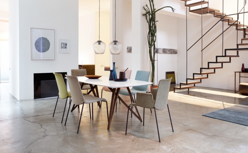 tisch seito walter knoll marcus hansen m nchen. Black Bedroom Furniture Sets. Home Design Ideas
