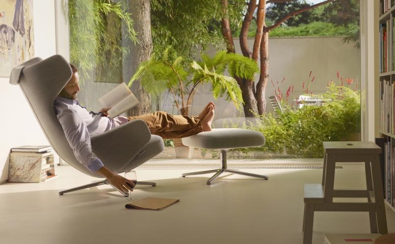 Lounge sessel repos grand repos vitra marcus hansen for Vitra design sessel