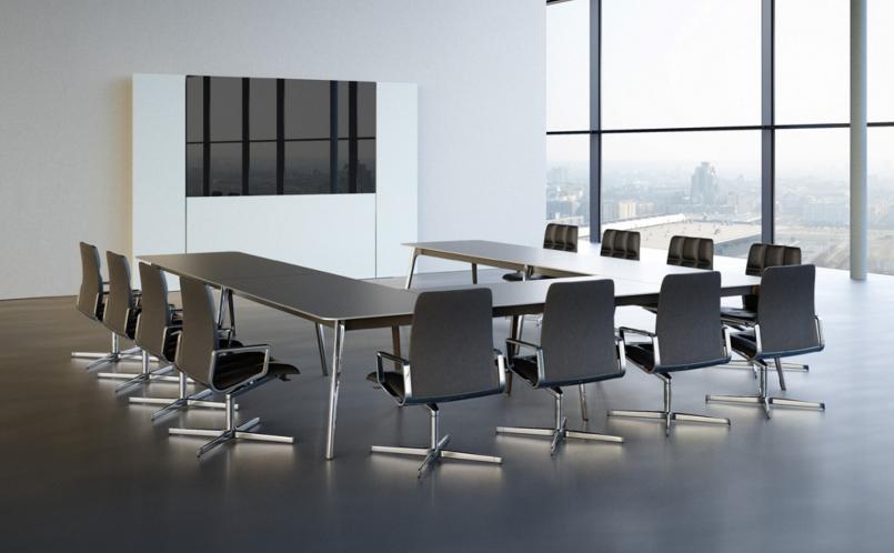 konferenztisch keypiece walter knoll marcus hansen m nchen. Black Bedroom Furniture Sets. Home Design Ideas