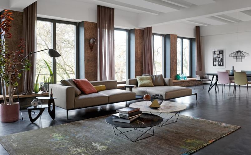 sofa jaan living walter knoll marcus hansen m nchen. Black Bedroom Furniture Sets. Home Design Ideas