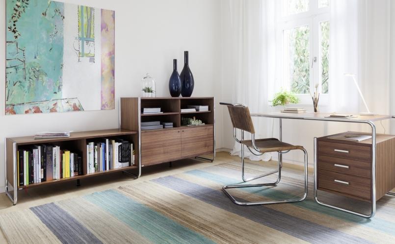 schreibtisch s 285 thonet marcus hansen m nchen. Black Bedroom Furniture Sets. Home Design Ideas