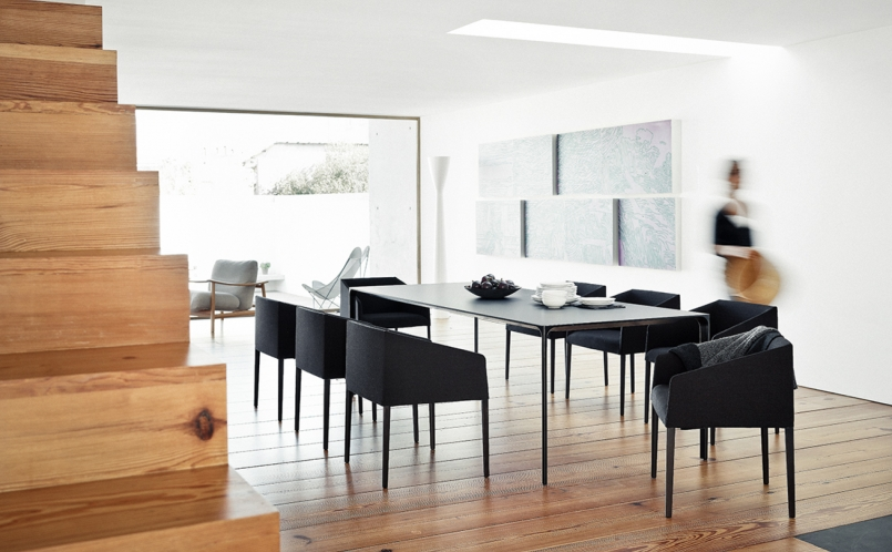 stuhl saari arper marcus hansen m nchen. Black Bedroom Furniture Sets. Home Design Ideas