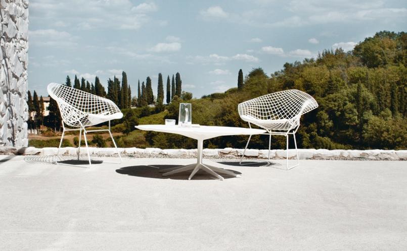 Gartenstuhl Bertoia Diamond Chair Knoll Marcus Hansen München