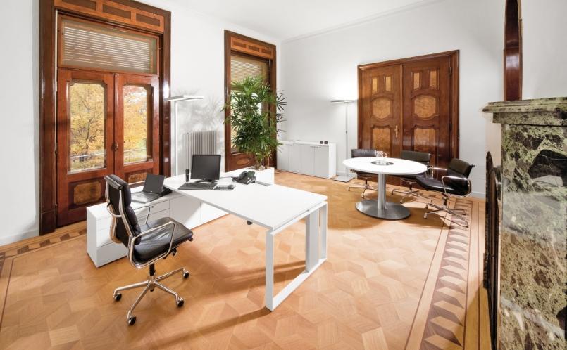 Schreibtisch iMOVE-F, Leuwico - Marcus Hansen München