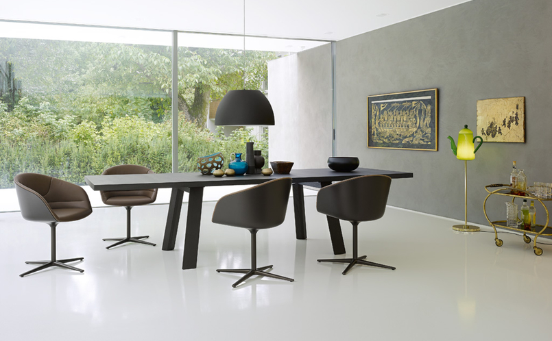 tisch tadeo walter knoll marcus hansen m nchen. Black Bedroom Furniture Sets. Home Design Ideas