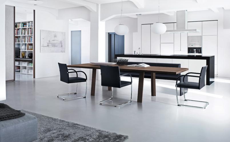 tisch tadeo walter knoll marcus hansen m nchen. Black Bedroom Furniture Sets. Home Design Ideas