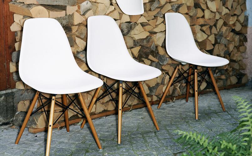 Stühle modern vitra  Stuhl Eames Plastic Side Chair DSW, Vitra, Vitra - Marcus Hansen ...