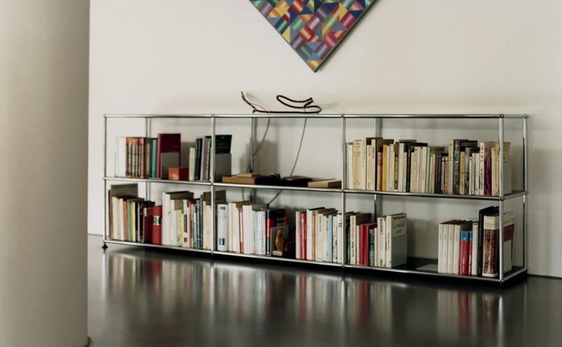 regal b cherregal usm haller marcus hansen m nchen. Black Bedroom Furniture Sets. Home Design Ideas