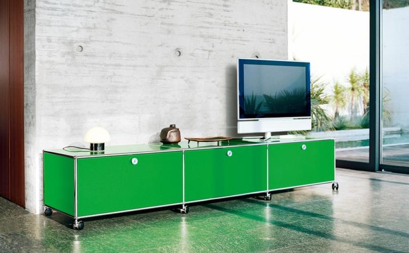 stauraum tv und hi fi usm haller marcus hansen m nchen. Black Bedroom Furniture Sets. Home Design Ideas
