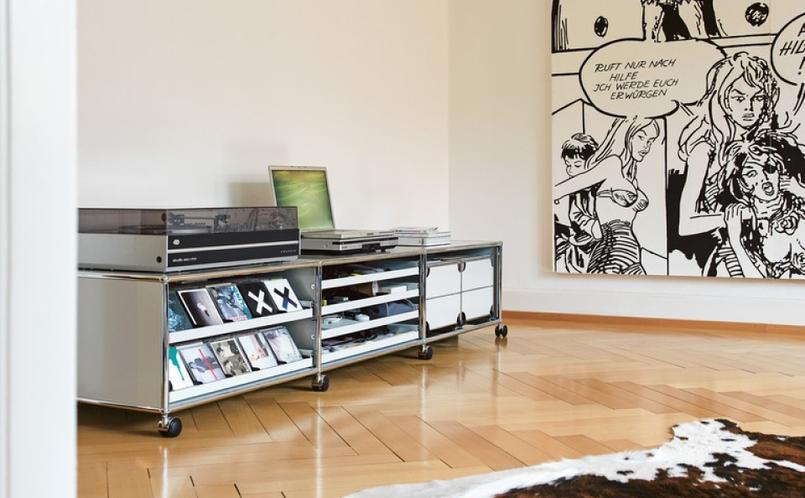 Usm Haller Wohnzimmer Sammlung | Stauraum Tv Und Hi Fi Usm Haller Marcus Hansen Munchen